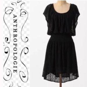 Anthropologie Leifnotes lapis lace dress XS